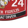 8024 Combat Diver MOS Patch   Lower Right Quadrant