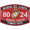 8024 Combat Diver MOS Patch