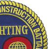 40th Mobile Construction Battalion Patch Fighting 40 | Upper Right Quadrant