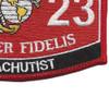 8023 Parachutist MOS Patch | Lower Right Quadrant