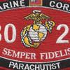 8023 Parachutist MOS Patch | Center Detail