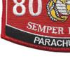 8023 Parachutist MOS Patch | Lower Left Quadrant