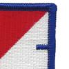 40th Cavalry Regiment 1st Squadron Flash Patch | Upper Right Quadrant