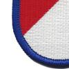 40th Cavalry Regiment 1st Squadron Flash Patch | Lower Left Quadrant