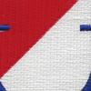 40th Cavalry Regiment 1st Squadron Flash Patch | Center Detail