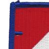 40th Cavalry Regiment 1st Squadron Flash Patch | Upper Left Quadrant