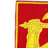 40th Field Artillery Regiment Patch | Upper Left Quadrant