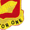 40th Field Artillery Regiment Patch | Lower Right Quadrant