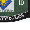 40th Infantry Division Military Occupational Specialty MOS Patch Army Veteran | Lower Right Quadrant