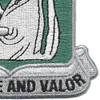 40th Armor - Cavalry Regiment Patch - By Force and Valor | Lower Right Quadrant