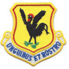 33rd Rescue Squadron, 18th Fighter Wing With Green Feet War Room Patch