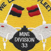 33rd Mine Division Patch | Center Detail
