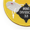 33rd Mine Division Patch | Lower Left Quadrant