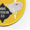 33rd Mine Division Patch | Lower Right Quadrant