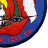 33rd Fighter Wing Nomads Patch | Lower Right Quadrant