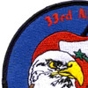33rd Fighter Wing Nomads Patch | Upper Left Quadrant