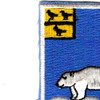 339th Infantry Regiment Patch | Upper Left Quadrant