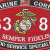 3381 Food Service Specialist MOS Patch | Center Detail