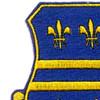 335th Infantry Regiment Patch | Upper Left Quadrant