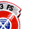 333rd Fighter Squadron Patch Hook And Loop | Upper Right Quadrant