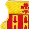 333rd Field Artillery Patch | Upper Left Quadrant
