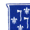 333rd Airborne Infantry Regiment Patch | Upper Left Quadrant