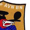 7th Squadron 9th Air Aviation Battalion Alpha Company Patch   Upper Right Quadrant