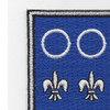 331st Infantry Regiment Patch | Upper Left Quadrant