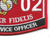 3302 Food Service Officer MOS Patch | Lower Right Quadrant
