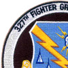 327th Fighter Group (Air Def) Patch   Upper Left Quadrant