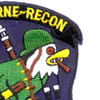 327th Airborne Infantry Regiment Patch Recon | Upper Right Quadrant