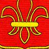 327th Airborne Field Artillery Battalion Patch | Center Detail
