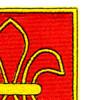 327th Airborne Field Artillery Battalion Patch | Upper Right Quadrant