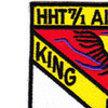 7th Squadron 1st Air Cavalry Aviation Regiment HHT Patch | Upper Left Quadrant