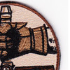 25th Air Support Operations Squadron Desert Patch Hook And Loop | Upper Right Quadrant