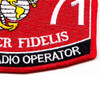 2571 Special Radio Operator MOS Patch | Lower Right Quadrant