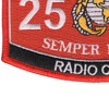 2537 Radio Chief MOS Patch | Lower Left Quadrant