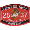 2537 Radio Chief MOS Patch