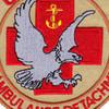 2515th Air Ambulance Detachment Patch Desert | Center Detail