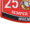 2511 Wireman MOS Patch | Lower Left Quadrant