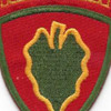 24th Infantry Division Patch Victory Division Hawaiian | Center Detail