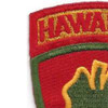 24th Infantry Division Patch Victory Division Hawaiian | Upper Left Quadrant