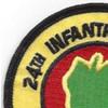 24th Infantry Division Patch Victory Division Association | Upper Left Quadrant