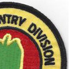 24th Infantry Division Patch Victory Division Association | Upper Right Quadrant