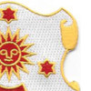 24th Field Artillery Regiment Patch | Upper Right Quadrant