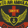 249th Medical Company Detachment 1 Aviation Air Ambulance Dustoff Patch | Center Detail