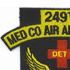 249th Medical Company Detachment 1 Aviation Air Ambulance Dustoff Patch | Upper Left Quadrant