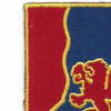 249th Field Artillery Regiment Patch | Upper Left Quadrant