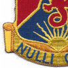 249th Field Artillery Regiment Patch | Lower Left Quadrant