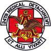 247th Aviation Medical Detachment Air Ambulance Patch